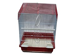 Flat Top Bird Cage - 4 Colors, 2 Sizes