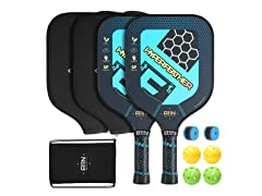 A11N Pickleball Paddle Carbonfiber Set