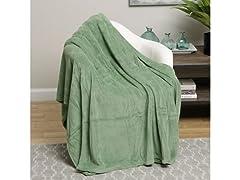 Plazatex Velvet Touch Microplush Blanket