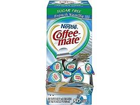 Nestle Coffee Creamer, Sugar Free Vanilla, 50ct