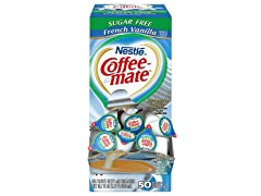 Nestle Coffee Creamer, Sugar Free Vanilla, 50ct