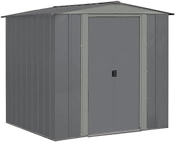 Arrow BRD6767GA 6'x7' Steel Storage Shed