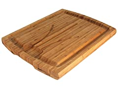 "20"" Carving Board with Grooves"