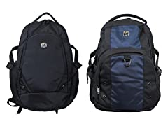 Multi-Compartment Travel Backpack 1 or 2 PK