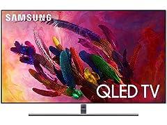 "Samsung Flat 55"" QLED 4K UHD 7 Series TV"