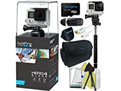 Pixibytes GoPro Hero 4 4K Waterproof Action Cam Kit
