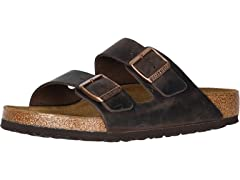Birkenstock Arizona Oiled Leather Sandal (Open Box)