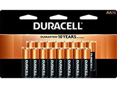 Duracell - CopperTop AA Alkaline Batteries-16ct