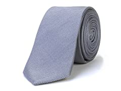 Silk Tie, Cool Blue Grey