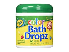 Crayola Color Bath Dropz 3.59 Ounce 60ct