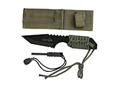 Survivor Fixed Blade Outdoor Tanto Knife