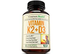 Vimerson Vitamin K2(MK7) + D3 Supplement