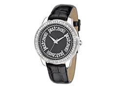 Just Cavalli Women's Shiny Black Watch