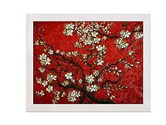 Van Gogh - Almond Blossom Red
