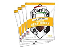 Oberto All-Natural Beef Jerky - 4 pk