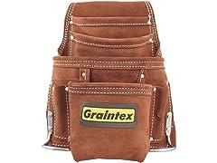 Graintex 10-Pocket Nail & Tool Pouch