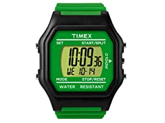 Unisex Jumbo Green/Black Watch