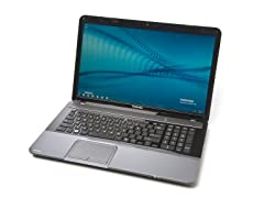 "Toshiba 17.3"" Dual-Core i3 Laptop"