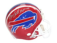 Bruce Smith Signed Replica Red Bills
