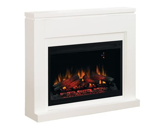 Mantel W Electric Fireplace Insert