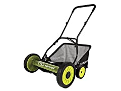 Sun Joe Manual Push Mower