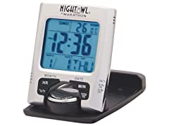 Marathon Marathon CL030023 Travel Alarm Clock