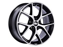 BBS SR Volcano Grey Wheel, 48mm