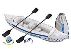 Sea Eagle 330 Deluxe Inflatable Kayak Bundle