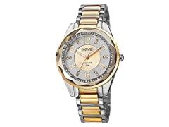 August Steiner Women's Swiss Quartz Diamond Watch