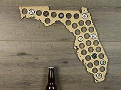 Beer Cap Map: Florida