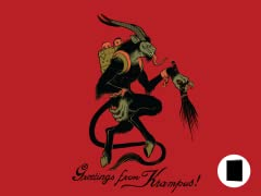 Greetings from Krampus! 10-Pk Cards