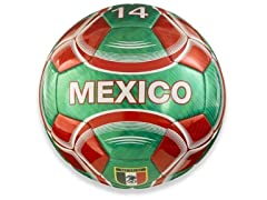 Vizari Mexico Soccer Ball-Green
