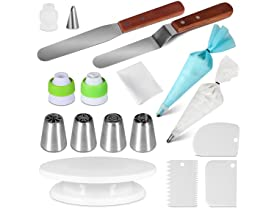 25 PCS Cake Decorating Supplies Kit for Beginners