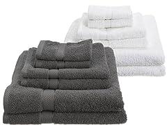 Pinzon Egyptian Cotton 725GSM 6Pc Towels-4 Colors