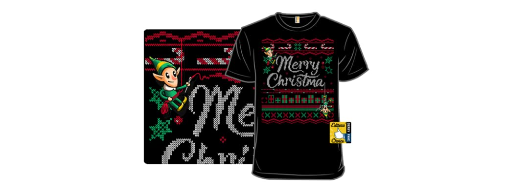 Ugly Holiday Sweater Tee: 2018