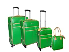 Safiano 4pc Set-Green
