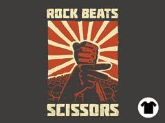 Rock Beat scissors