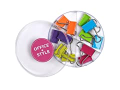 Office + Style Large Binder Clips - 3 Pack