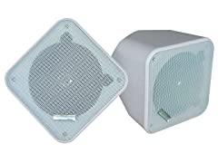 """5"""" Weatherproof Indoor/Outdoor Speakers (Pair)"""