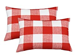 Anderson Lipstick 12.5x19 Pillows-S/2
