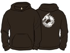 """Of Ice & Fire"" Pullover Hoodie"