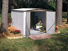 Arrow Sentry 8' x 9' Shed, White