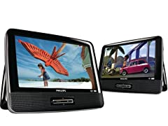 "Philips PD9016 9"" Portable DVD Player"
