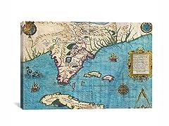 Florida & Cuba ca 1588 26x18