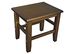 Pine Solid Wood Small Square Stool