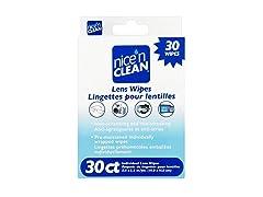 Nice 'N Clean 30 Lens Wipes