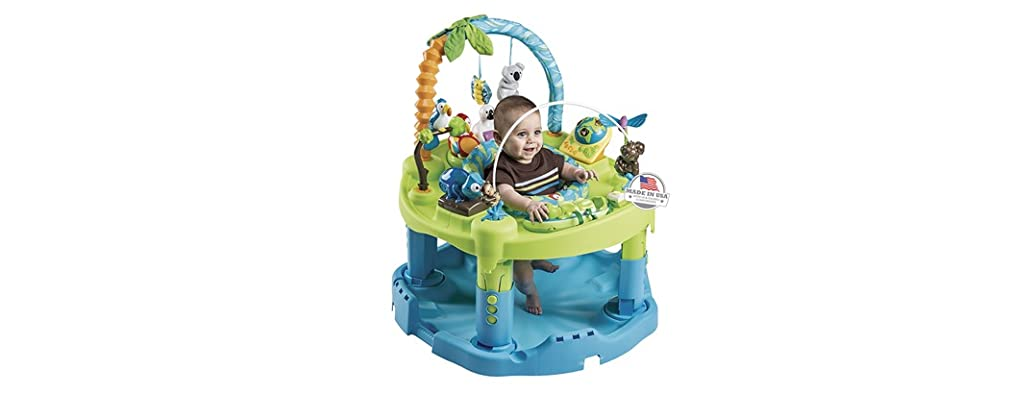 Evenflo Exersaucer Triple Fun- Animal Planet