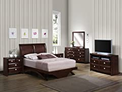 Aurora 4-pc Bedroom Set (3 Sizes)