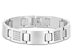 Stainless Steel Grated Bracelet