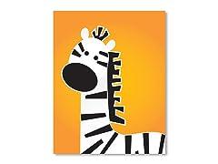 """11"""" x 14"""" Zebra Print"""